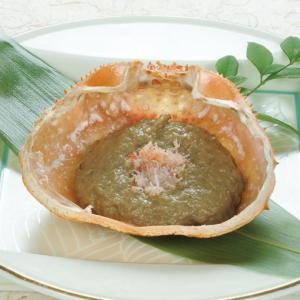 冷凍食品 業務用 かにみそ甲羅焼100g 3個入 化学調味料不使用 つまみ カニみそ 蟹みそ 甲羅焼 和食|syokusai-netcom