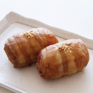 冷凍食品 業務用 肉巻きおにぎり 320g  4個    弁当 おむすび オニギリ バーベキュー 屋台 学園祭 文化祭|syokusai-netcom