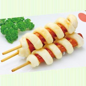 冷凍食品 業務用 揚げもちフランク 600g  5本入    弁当 フランクフルト 餅フランク 学園祭 文化祭 屋台 イベントフランクフルト|syokusai-netcom