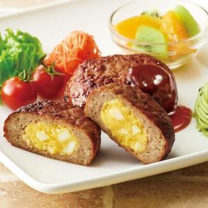 冷凍食品 業務用 タマゴサラダ包みハンバーグ 100g×20個  弁当 弁当 カフェ ランチ 定食 肉料理|syokusai-netcom