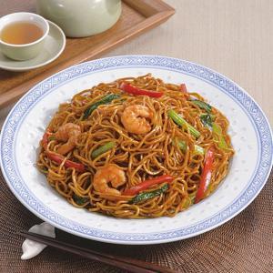 冷凍食品 業務用 上海焼そば  極細めん   1kg  弁当 具材付 具付 やきそば ヤキソバ 焼きそば|syokusai-netcom