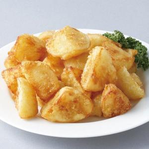 冷凍食品 業務用 じゃが揚げさん 1kg ランダムカット   弁当 フライドポテト ポテト 揚物 付け合せ ホッカイコガネ|syokusai-netcom