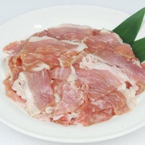 冷凍食品 業務用 伊勢美稲豚もも にんにく醤油 タレ漬  500g  弁当 ヤキニク 豚肉 弁当 ランチ|syokusai-netcom