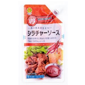 冷凍食品 業務用 スパイスセレクション シラチャーソース 200g  弁当 タイ 調味料 万能ソース 万能調味料|syokusai-netcom