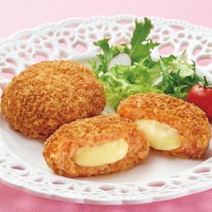 冷凍食品 業務用 とろーりチーズソースの明太包み揚げ 80g×12個  弁当 弁当 コロッケ コロッケ イベントコロッケ|syokusai-netcom