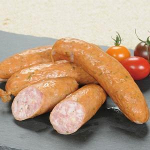 冷凍食品 業務用 ドイツ産クラカウアーあらびき 420g 70g×6本    お弁当 ソーセージ オールポーク ハーブ 洋風調理 洋食 肉料理 ソーセージ 一品|syokusai-netcom