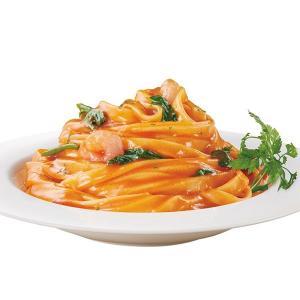 冷凍食品 業務用 MA-MA PASTA STELLA 濃厚エビトマトクリーム 275g    お弁当 軽食 朝食 バイキング 簡単 温めるだけ パスタ|syokusai-netcom