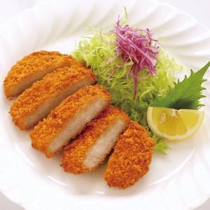 冷凍食品 業務用 LPロースカツ 3000g(50個)    お弁当 ケース販売 リーズナブル ロースカツ 洋食 肉料理|syokusai-netcom