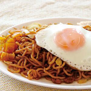 冷凍食品 業務用 横手やきそば200g×5個 具材付 電子レンジ調理可 和食 麺 ご飯 焼きそば|syokusai-netcom