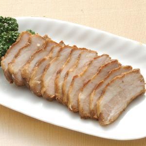グルメ 冷凍食品 業務用 三段煮込みチャーシュー 200g  弁当 叉焼 焼豚 煮豚 肉 ブロック|syokusai-netcom