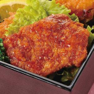 グルメ 冷凍食品 業務用 タレづけミニチキンカツ(ソース) 525g  弁当 揚物 惣菜 弁当 ランチ レンジ|syokusai-netcom