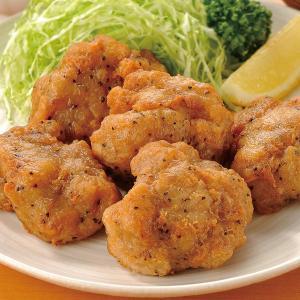 グルメ 冷凍食品 業務用 鶏もも唐揚げ  黒胡椒 1kg  弁当 とり唐揚 から揚げ からあげ 揚げ物 つまみ 学園祭:揚物 人気商品:からあげ|syokusai-netcom