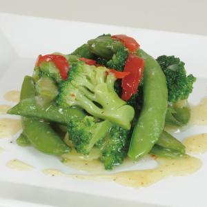 グルメ 冷凍食品 業務用 緑野菜のペペロンチーノ500g  弁当 スナップエンドウ ブロッコリー  ...