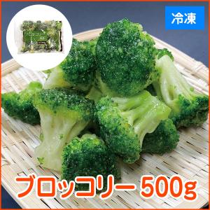グルメ 冷凍食品 業務用 冷凍ブロッコリー IQF 500g 弁当 簡単 時短 自然素材 緑黄色野菜 洋食サラダ|syokusai-netcom