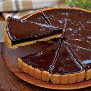 グルメ 冷凍食品 業務用 タルト オ ショコラ約500g 10カット チョコレート ケーキ スイーツ|syokusai-netcom