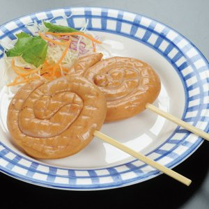 冷凍食品 業務用 串付トルネードウインナー 300g 60g×5本入 イベント 串付 ウインナー 肉料理 一品|syokusai-netcom