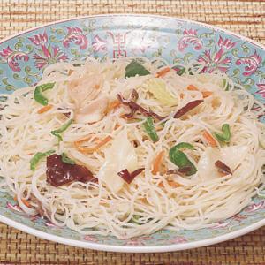 冷凍食品 業務用 調理焼ビーフン 1食180g レンジ 中華 麺類 ビーフン|syokusai-netcom