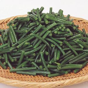 冷凍食品 業務用 にんにくの芽カット 500g    お弁当 簡単 時短 野菜 カット野菜|syokusai-netcom