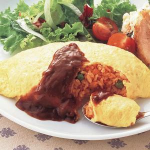 冷凍食品 業務用 ふんわり卵のオムライス 1食250g    お弁当 手作り感 簡単 便利 洋食 夕食 昼食 ランチ おかず|syokusai-netcom