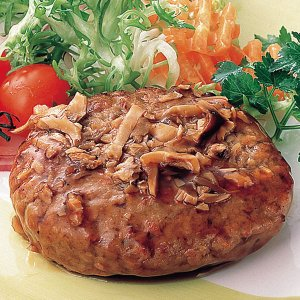 冷凍食品 業務用 まいたけハンバーグ 160g 和風ハンバーグ 本格ソース ハンバーグ 洋食 肉料理 syokusai-netcom
