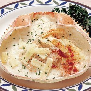 冷凍食品 業務用 かに甲羅グラタン 3個入 ホテル 朝食 グラタン ドリア 洋食 syokusai-netcom