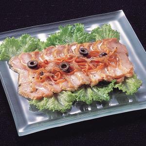 冷凍食品 業務用 スモークチキンのマリネ バジル風味 260g    お弁当 一品 バイキング パーティー チキン マリネ 洋食 肉料理|syokusai-netcom