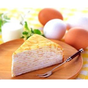 冷凍食品 業務用 北海道のミルクレープ  バニラ 約80g×4個入    お弁当 人気商品 洋菓子 ケーキ|syokusai-netcom
