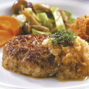 冷凍食品 業務用 グリルドハンバーグ 120g×10個入 お好みのソースで ハンバーグ 肉料理 洋食|syokusai-netcom