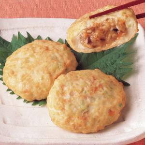 冷凍食品 業務用 豆腐のそぼろあん 包み 約50g×10個入    お弁当 一品 惣菜 日本 和食 鍋|syokusai-netcom