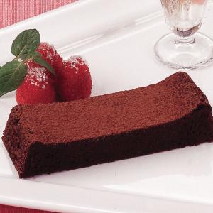冷凍食品 業務用 フリーカットケーキ ガトーショコラ 1本385g チョコレートケーキ 洋菓子 ケーキ|syokusai-netcom