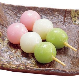 冷凍食品 業務用 三色花団子 約30g×10本入 3色だんご 甘味 和菓子|syokusai-netcom