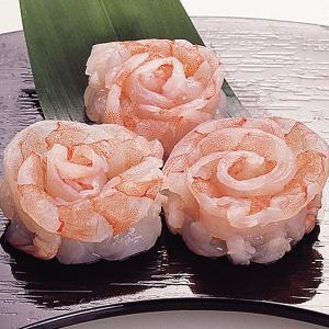 冷凍食品 業務用 えび華造り エビフラワー 10個入 お刺身 寿司ネタ 水産 魚介 エビ|syokusai-netcom
