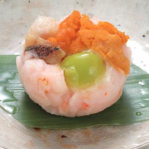 冷凍食品 業務用 甘鯛うに蒸し 約45g×15個入 一品 惣菜 お通し 割烹 料亭 うに 割烹|syokusai-netcom