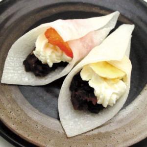 冷凍食品 業務用 ぎゅうひクレープシート 白 10枚入    お弁当 巻く 包む 茶巾 求肥 和菓子 デザート|syokusai-netcom