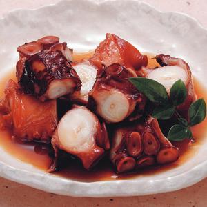 冷凍食品 業務用 鮹やわらか煮 500g    お弁当 味付けタコ たこ 一品 惣菜 やわらか煮 魚料理 和食|syokusai-netcom
