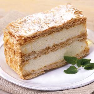 冷凍食品 業務用 ミルフィーユ 約75g×6個入 パイ カスタードクリーム 洋菓子 ケーキ|syokusai-netcom