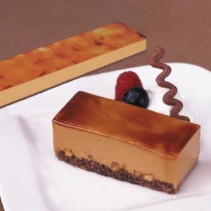 冷凍食品 業務用 フリーカットケーキ キャラメル 510g    お弁当 バイキング パーティー ムース 洋菓子 ケーキ|syokusai-netcom