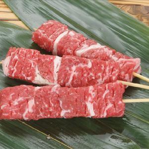 冷凍食品 業務用 牛ステーキ串 約35g×10本入 串焼 串揚 ステーキ串 牛 串 和食|syokusai-netcom