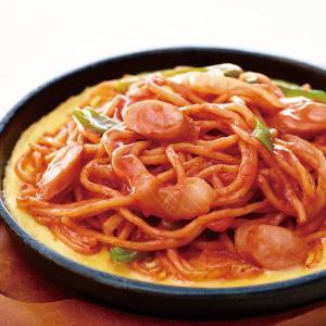 冷凍食品 業務用 もっちり麺の焼きナポリタン 1kg    お弁当 中太麺 麺類 ランチ ナポリタン 麺類 ご飯類|syokusai-netcom