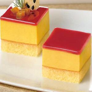 グルメ 冷凍食品 業務用 カット済ケーキ 安納芋 367g箱 49個 スイーツ 洋菓子 ブッフェ|syokusai-netcom