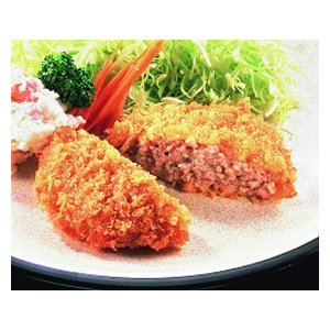 冷凍食品 業務用 サックリメンチカツ 60g×60個入    お弁当 ケース販売 とんかつ メンチカツ 洋食 肉料理|syokusai-netcom