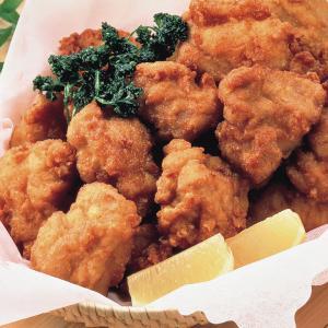 冷凍食品 業務用 鶏もも唐揚げ 1kg    お弁当 カラアゲ からあげ 鶏 唐揚げ 揚げ物 フライ 若鶏モモ 和食|syokusai-netcom