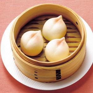 冷凍食品 業務用 テーブルマーク)繁盛飲茶ひとくち桃まん 500g(約25g×20個)    お弁当 一口サイズ あんまん 中華点心 デザート|syokusai-netcom