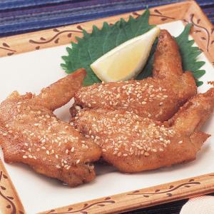 冷凍食品 業務用 ごま手羽 20個入    お弁当 手羽先 おつまみ 鶏肉|syokusai-netcom