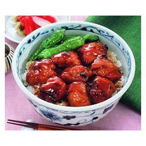 冷凍食品 業務用 炭火焼き鳥丼の具 1食200g    お弁当  丼 ドンブリ 保存食 syokusai-netcom