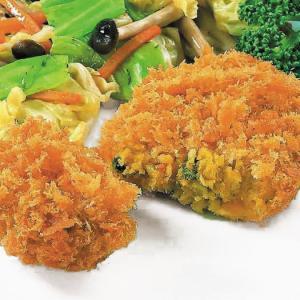 冷凍食品 業務用 衣がサクサク コロッケ かぼちゃ 70g×20個入    お弁当 ホクホクかぼちゃ コロッケ 洋食 肉料理|syokusai-netcom