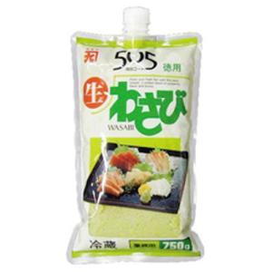 冷凍食品 業務用 505生わさび 750g 生山葵 薬味 わさび 香辛料 スパイス 調味料|syokusai-netcom