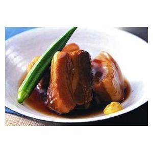 冷凍食品 業務用 やわらか角煮 1kg    お弁当 三元豚 かくに 豚肉 角煮|syokusai-netcom