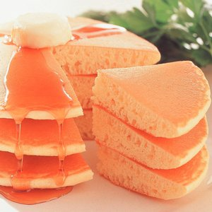 冷凍食品 業務用 ジャンボホットケーキ 2枚入 スナック おやつ 軽食 洋菓子 ケーキ|syokusai-netcom