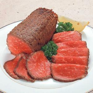 冷凍食品 業務用 ローストビーフ モモ 5kg   約6〜8本入 バラつき有 切断面 約7〜8cm    お弁当 前菜 パーティ オードブル|syokusai-netcom